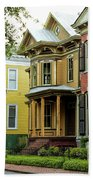 Savannah Architecture Beach Towel