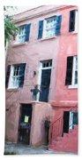 Savannah Georgia Shades Of Pink Beach Towel