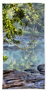 Savannah River In Spring Beach Towel