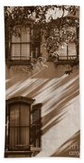 Savannah Sepia - Windows Beach Towel