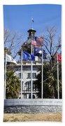 Sc Veterans Monument Beach Towel