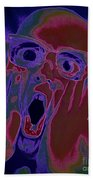 Scared Silly Beach Towel