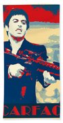 Scarface Beach Towel