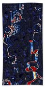 Scattered Thoughts Beach Towel