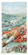 Scene From Gullivers Travels Beach Towel