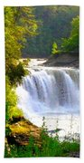 Scenic Falls Beach Towel