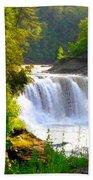 Scenic Falls Beach Towel