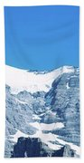 Scenic View Of Eiger And Monch Mountain Beach Towel