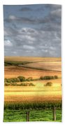 Scenic Wiltshire Beach Towel