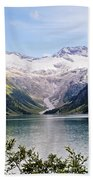 Schlegeis Dam And Reservoir  Beach Towel