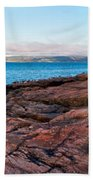 Schoodic Point 8414 Beach Towel