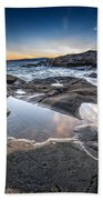 Schoodic Reflections Beach Towel