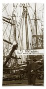 Schooner Luisa D Sails For Nome Alaska  About April 18 1902 Beach Towel