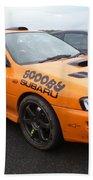 Scooby Subaru Beach Sheet