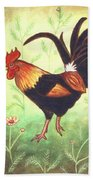 Scooter The Rooster Beach Towel
