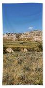 Scotts Bluff National Monument - Scottsbluff Nebraska Beach Towel