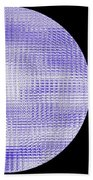 Screen Orb-08 Beach Towel