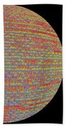 Screen Orb-17 Beach Towel