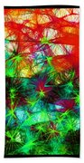 Scribble Thicket Beach Towel