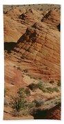 Sculpted Colorado Sandstone Paria Canyon Beach Towel