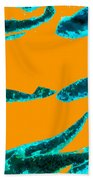 Sea Dreams 1 Orange Beach Towel