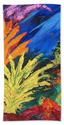 Sea Garden Beach Towel