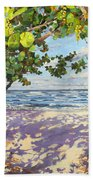 Sea Grape Delight Beach Towel