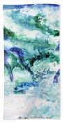 Sea Horses Beach Towel