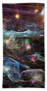 Sea Monsters And Horror Fish  Beach Towel