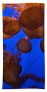 Sea Nettle Jellyfish Beach Towel