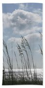 Sea Oats And Safety Beach Towel