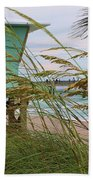 Sea Oats And The Tower Beach Towel