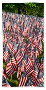 Sea Of Flags Beach Towel