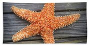 Sea Star On Deck 2 Beach Towel