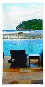 Sea Star Villa Beach Towel