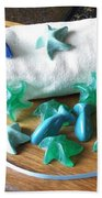 Sea Stars Mini Soap Beach Towel