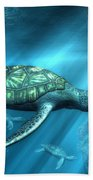 Sea Turtles Beach Towel