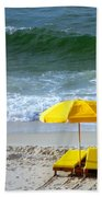 By The Sea Waiting For Me Beach Towel