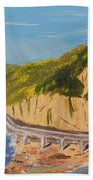 Seacliff Bridge Beach Towel