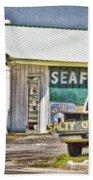 Seafood Beach Towel