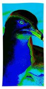 Seagull Art 2 Beach Towel