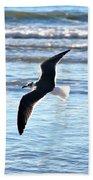 Seagull Flight Beach Towel