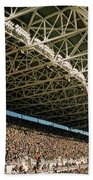Seahawks Stadium 4 Beach Towel