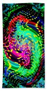 Seahorse Phone Case Art Colorful Dynamic Abstract Geometric Design By Carole Spandau 130  Cbs Art Beach Towel
