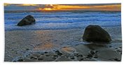 Seascape At Marthas Vineyard Beach Towel
