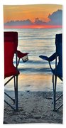 Seascape Serenity Beach Towel