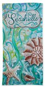 Seashells II Beach Towel