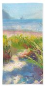 Seaside Afternoon Beach Towel by Talya Johnson