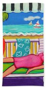 Seaside Siesta Beach Towel