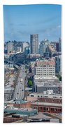 Seattle Waterfront Beach Towel